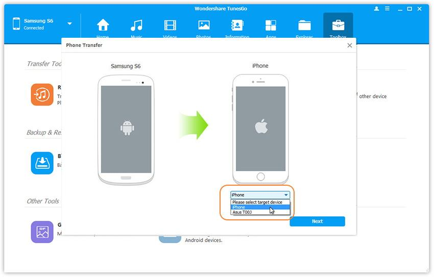 iOS & Android Manager: Transfer, Manage, Backup iOS and