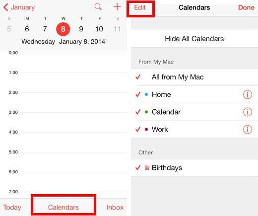 How to delete reminder calendar on iphone permanently erase calendar on iphone ccuart Images