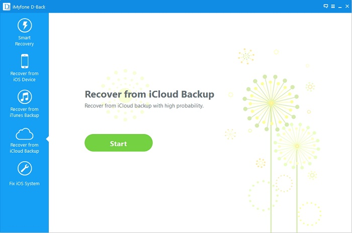 recover lost iPhone data from iCloud