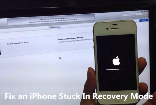 get iPhone out of recovery mode without restoring