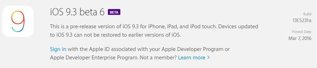 download ios 9.3firmware to update iPhone system