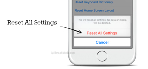 factory reset your iPhone to erase data