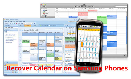 Solved]Retrieve Deleted Calendar on Samsung Phone