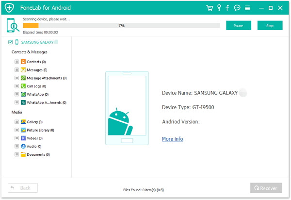 scan data from your broken samsung phone