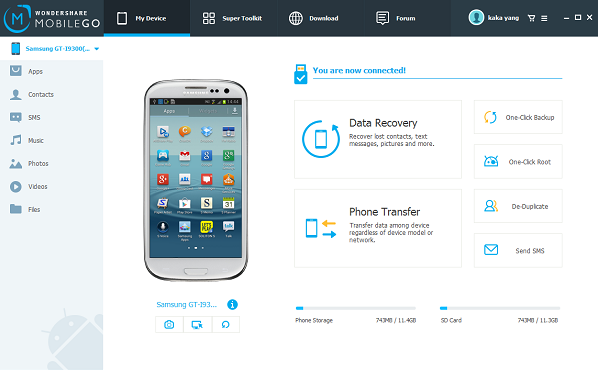 download the android transfer program