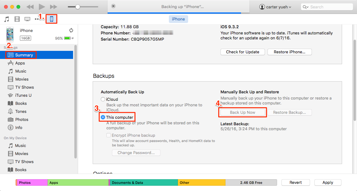 How To Download Iphone Data To Itunes