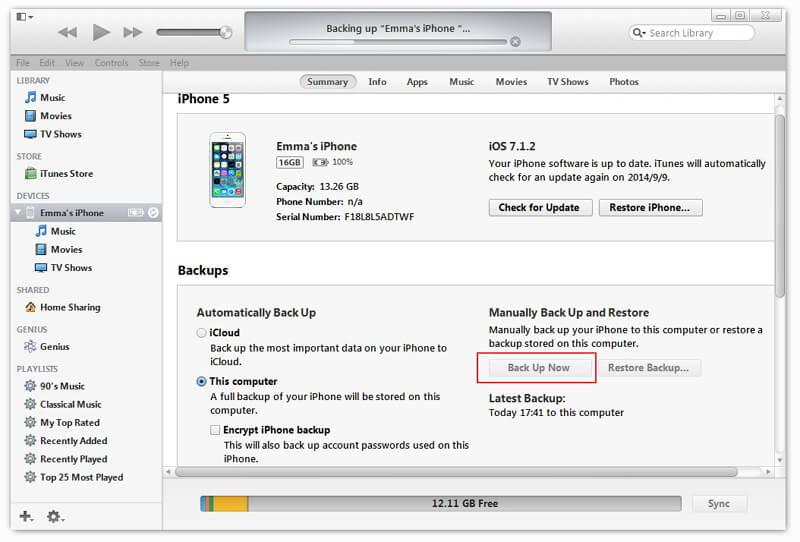 copy iphone ipad data to computer before ios 10 update
