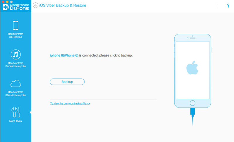 backup iphone Viber chats to computer