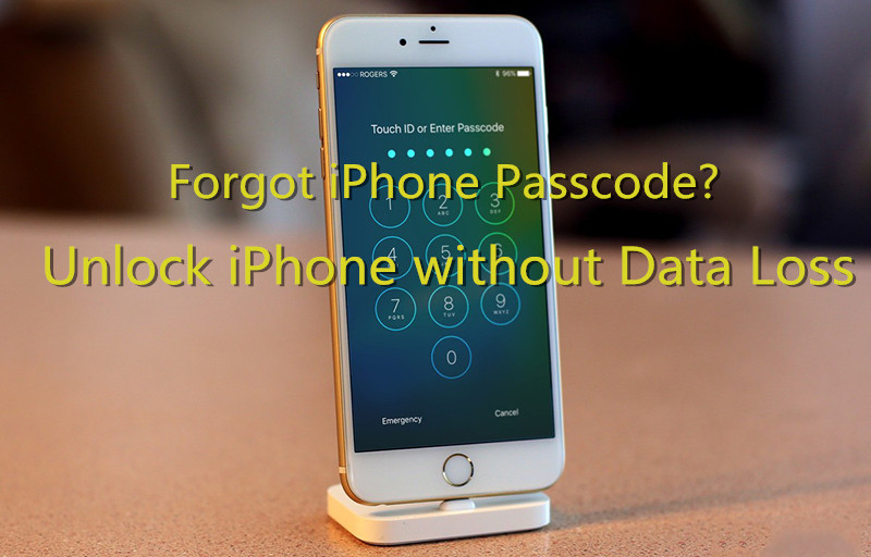 Forgot iPhone Passcode \u2013 Recover Data from Disabled\/Locked iPhone or iPad