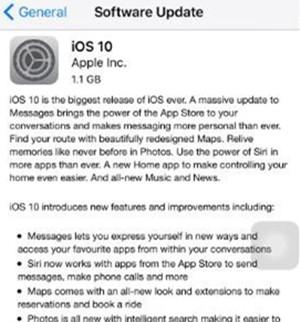 Fix iOS 10 Update Requested