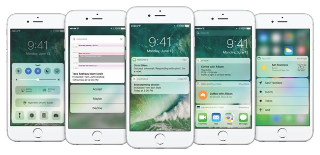 iphone ios 10 update complete