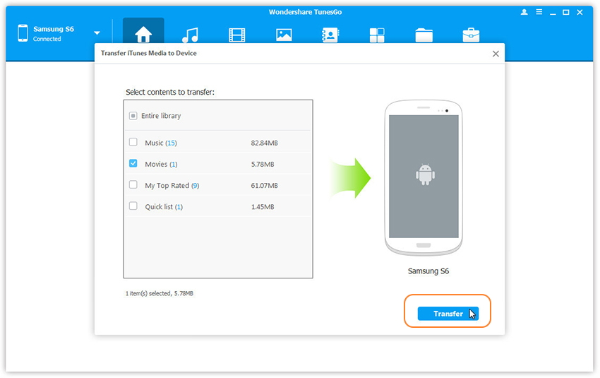 How To Transfer Files From Iphone To Samsung