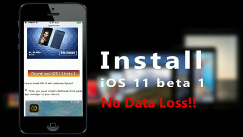 How to Install iOS 11/10 3 IPSW File on iPhone iPad Without