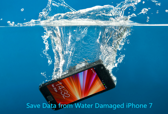 recover data from water damaged iphone 7