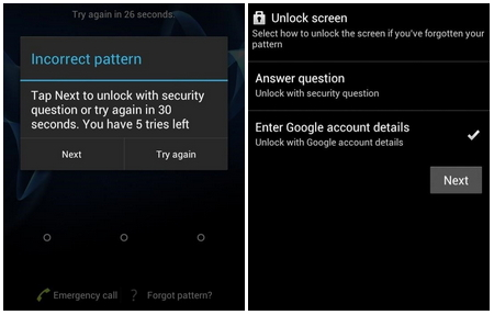 How to Unlock the Screen Lock on Huawei P9