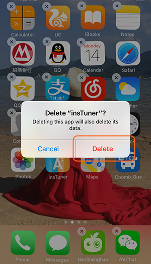deleted useless apps on iphone