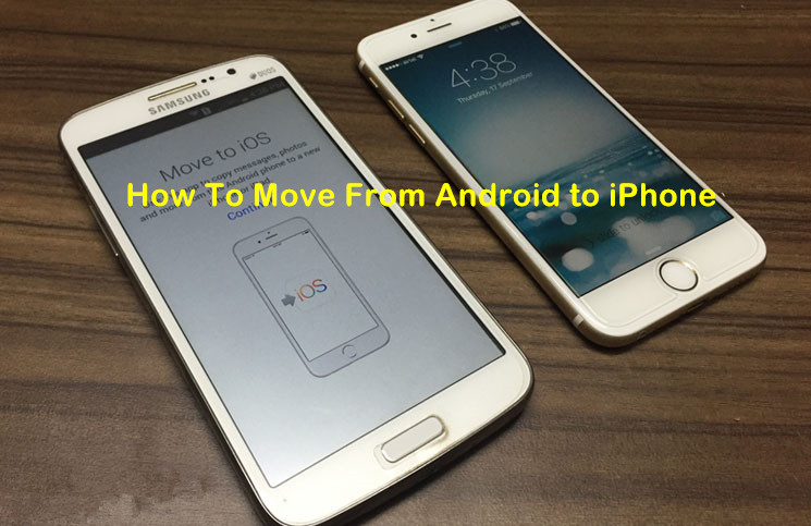 switch an android to iphone