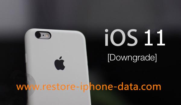 How to Downgrade iOS 11 to iOS 10 3/10/9 3 on iPhone iPad