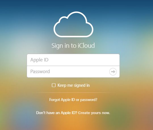 recover locked iphone data through icloud