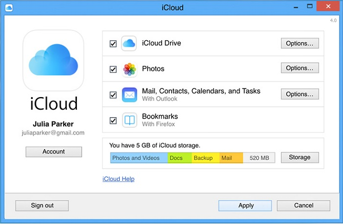 recover iphone data via icloud drive