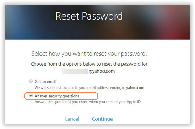 how to reset security questions on iphone solved forgot icloud password here s how to fix it 6602