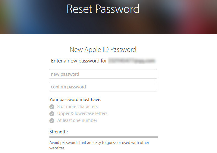 how to restore icloud password