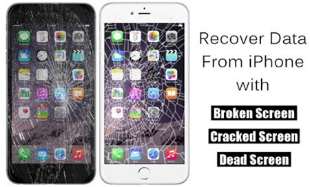 backup whatsapp broken screen iphone