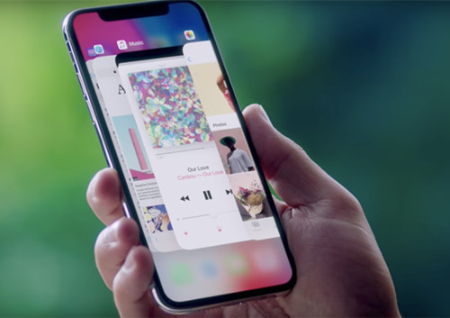 how to delete music from iphone x