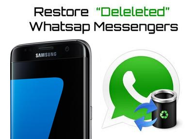 Recover Deleted WhatsApp Messages from Samsung Note 8
