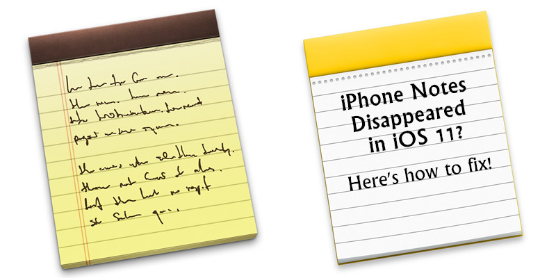 Notes App Disappeared From Iphone