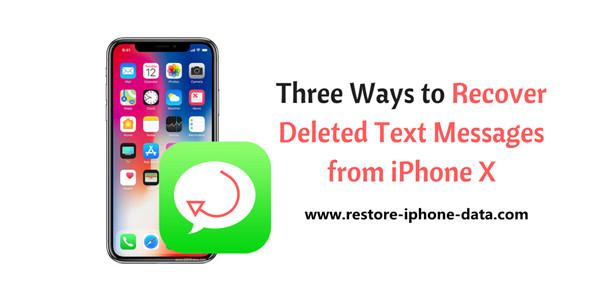 retrieve erased text messages