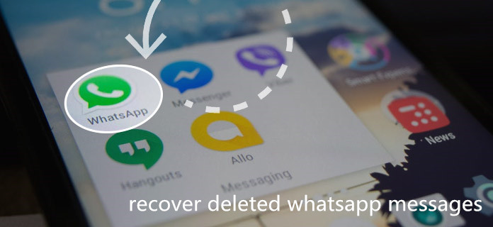 Recover Deleted WhatsApp Messages on iPhone XS without Backup